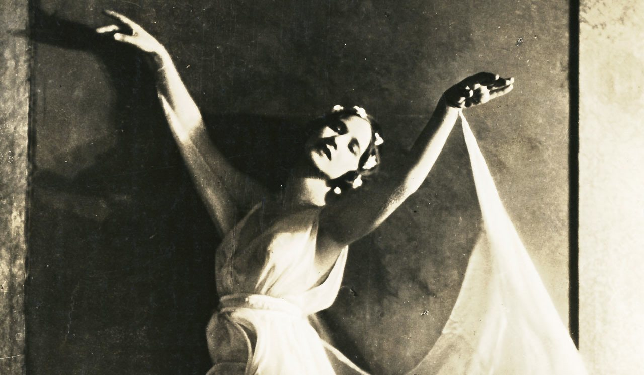 Anna Duncan Unidentified Dance By Isadora Duncan Jacob